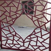 厂家专业从事铝合金窗花焊接加工-复古铝合金冰裂纹窗花