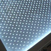 奉贤超薄灯箱导光板厂家亚克力激光打点光均90%透光92%定制