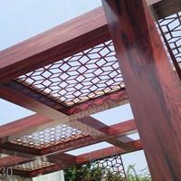 木纹氟碳铝方管 铝方通