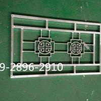 广东中式铝花格窗-中式仿古铝花格材料批发行情