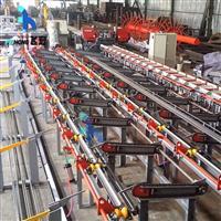 新型智能数控钢筋锯切套丝生产线FHT-40