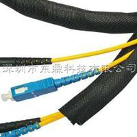 耐磨自卷式编织套管开口式套管线束保护编织网管