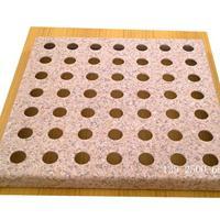 武汉石纹冲孔铝扣板 石纹铝单板