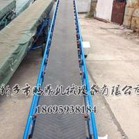石英砂合金粉装车卸货移动式皮带机-饲料爬坡运输机