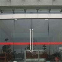 宁波自动玻璃感应门安装