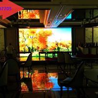 四川成都P4室内全彩LED显示屏安装