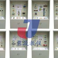 JS-YQ8型液压气动教学陈列柜 液压实验台 绘图桌 钳工桌