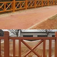 广东水泥仿木栏杆制作公司_韶关河道护栏优质厂家批发供应