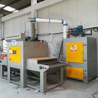红酒瓶磨砂处理设备 玻璃工艺品加工设备 红海自动喷砂机