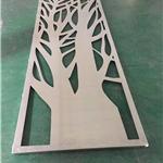 商场装饰木纹铝窗花设计打造_浙江定制