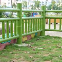 江西水泥仿竹栏杆厂家九江仿竹护栏制作施工队伍南昌仿竹围栏价格