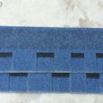 云南优质烤砂不褪色标准型单层云石灰沥青瓦屋面瓦