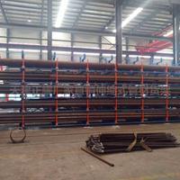 浙江新型悬臂货架 伸缩式管材存储货架 长型材存储方法