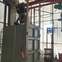 佛山打沙机加工制造商双吊钩式抛丸机锯片油漆处理喷砂机厂家