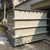 河南郑州pp塑料板污水处理加药箱生产厂家