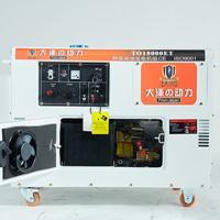 便携式15千瓦静音柴油发电机救灾用