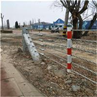 镀锌缆索护栏@绳索安全防垮护栏@厂家专业生产镀锌缆索护栏