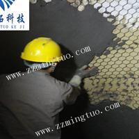 龟甲网耐磨胶泥 烟道用耐磨陶瓷涂料