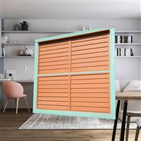 绿牌智能电动遥控木质百叶窗 欧式遮阳透气百叶窗 厂家直销