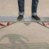 厂家大量批发折叠式马凳移动脚手架装修