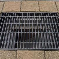 热镀锌铸铁格栅井盖排水沟盖板