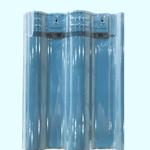 陶瓷欧式连锁瓦 釉面瓦 别墅瓦 工程屋面瓦