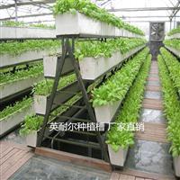 草莓立体种植槽价格 大棚无土栽培架 番茄基质槽