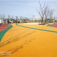 彩色透水路面 透水地坪材料 承揽透水混凝土工程施工