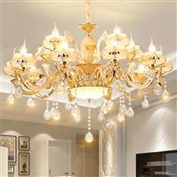 别墅吊灯选择什么样的好复式楼梯长吊灯尺寸