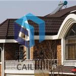 彩石金属瓦:木屋中理想的屋面瓦