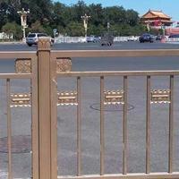 北京长安街道路护栏样式专业生产厂家 不锈钢材质氟碳喷漆表面