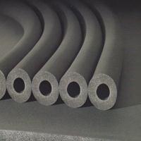供应隔热材料橡塑保温板厂家30mm厚柔性泡沫橡塑管保温材料