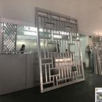 铝窗花厂家打磨复古铝窗花-转印铝窗花定制生产