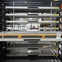 抽屉式货架存放板材 板材抽屉式货架 钢板抽屉式货架