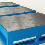塑胶厂钢板台出货快钳工教学专用3A钳工台