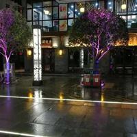 人行道铺装发光砖LED埋地灯带