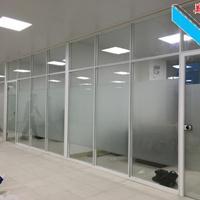 深圳玻璃隔墙 办公室玻璃隔断 百叶厂家