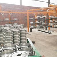 汽车配件喷涂生产线、货车配件喷涂流水线、农机喷涂自动线