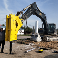破碎锤生产厂家 打击力超强 关键零部件全部韩国进口