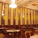 招远包厢隔断定制厂家,动隔断墙,招远饭店装饰酒店