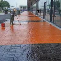 固原压模路面制作艺术压模地坪模具施工包工包料成本低
