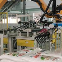 厂家直供袋料面粉码垛机械手、机械手码垛机成套设备