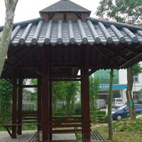 木屋仿古瓦  衡阳 长廊凉亭仿古筒瓦
