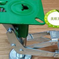 厂家供应美顺4系列6寸日式地刹器 顶高器脚轮