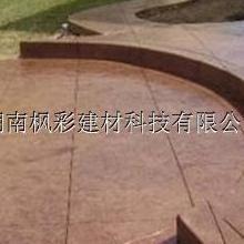 南昌压模混凝土材料价格更便宜压模地坪脱膜粉一次成型