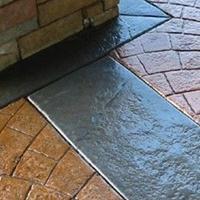 中卫压花压模地坪模具艺术地面施工枫彩厂家材料质保15年