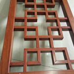 江苏实验小学装饰铝花窗防盗网 仿古木纹漆铝合金花窗 焊接材料