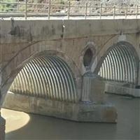 专业桥隧加固钢波纹板厂家 旧桥补强波纹钢管涵