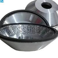 万方达树脂金刚石碗型砂轮 磨滚刀合金砂轮 砂轮定制厂家
