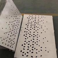 店铺门头装饰镂空铝单板-雕刻雕花铝板-幕墙造型铝单板